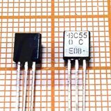 транзистор BC550CG TO92 NPN Uce=45V Ic=0.1A Pc=0.5W (КТ3102Б)