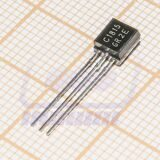 транзистор 2SC1815GR TO-92 NPN Uce=45V Ic=0.1A Pc=0.3W